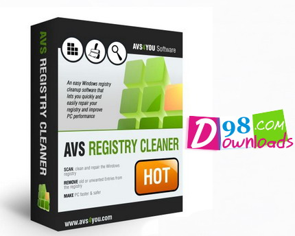 نرم افزار AVS Registry Cleaner